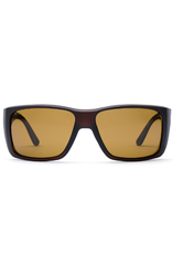 Otis Eyewear 139-2002P Coastin Matte Espresso/Brown Polar