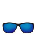 Costa Del Mar Mag Bay Shiny Blk Blu Mir 580G