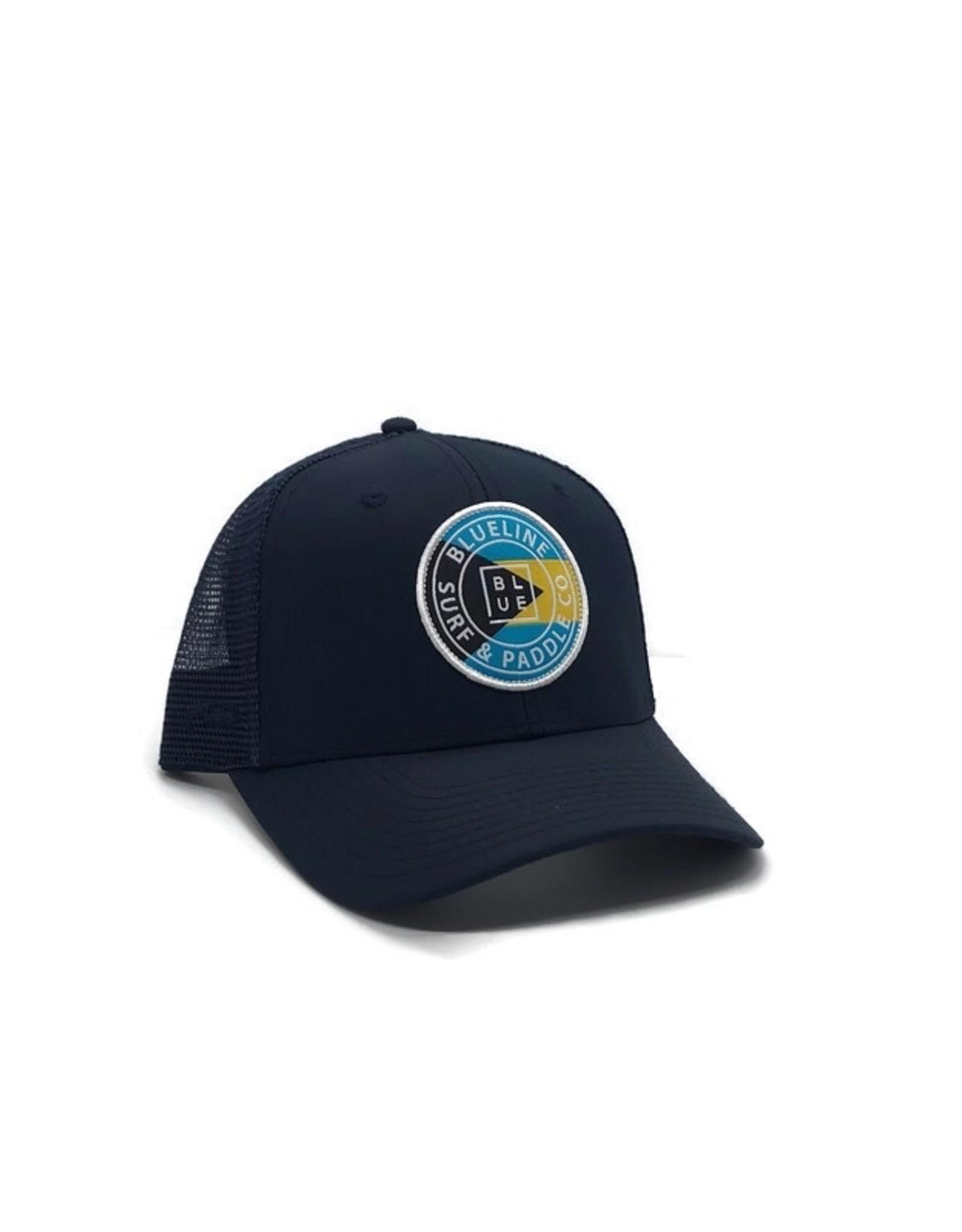 Blueline Surf + Paddle Co. Curved Original Bahamas Navy