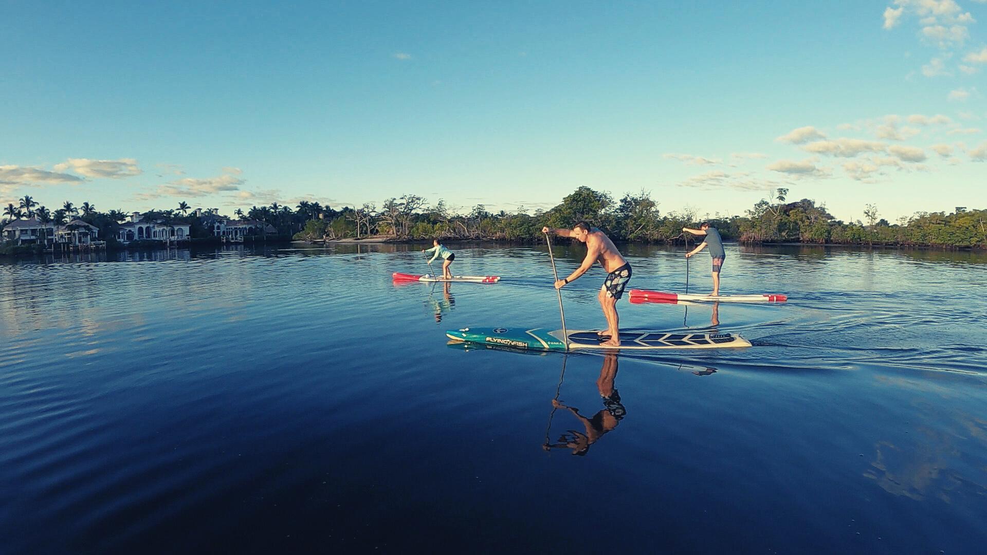 Paddle Practice