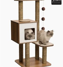VESPER VESPER Cat Furniture High Base Walnut