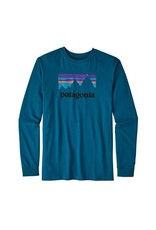 Patagonia Patagonia Men's Shop Sticker Long Sleeve Tshirt