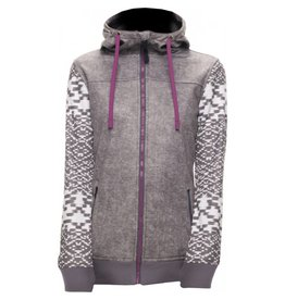686 686 Women's Ella Bonded Zip Fleece Hoody