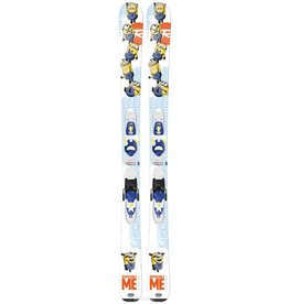 Rossignol Rossignol Minions Kids Skis with Kid-X 4 Bindings