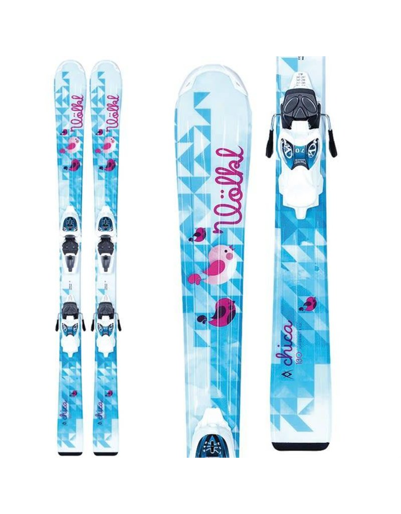 Volkl Volkl Chica Skis with 7.0 vMotion Jr Bindings