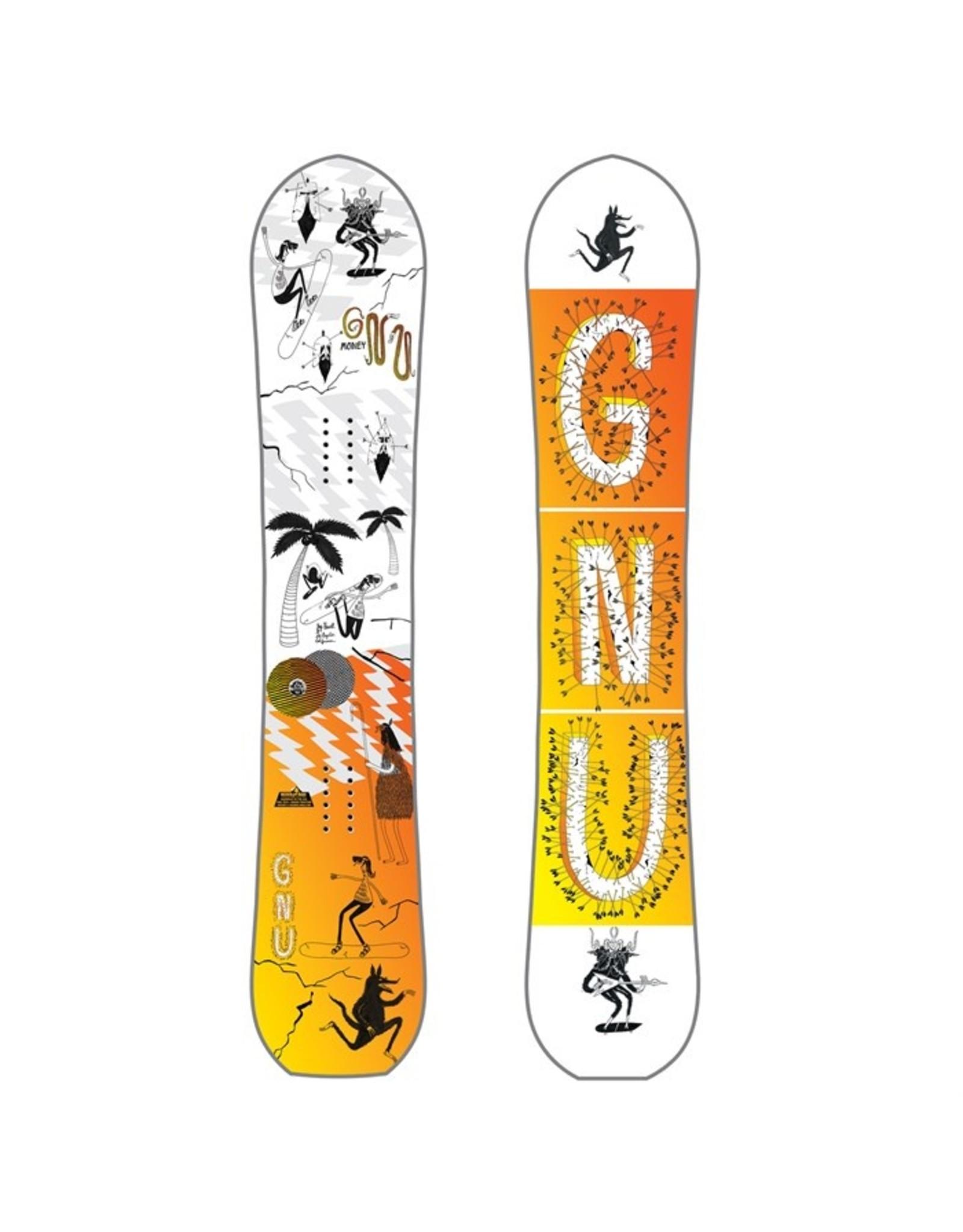Gnu Gnu Money C2e Snowboard 2018