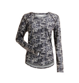 NILS NILS Abby Print Base Layer Top