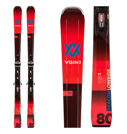 Volkl Volkl Men's Deacon 80 Ski + Vmotion 3 10 GW Bindings 2020