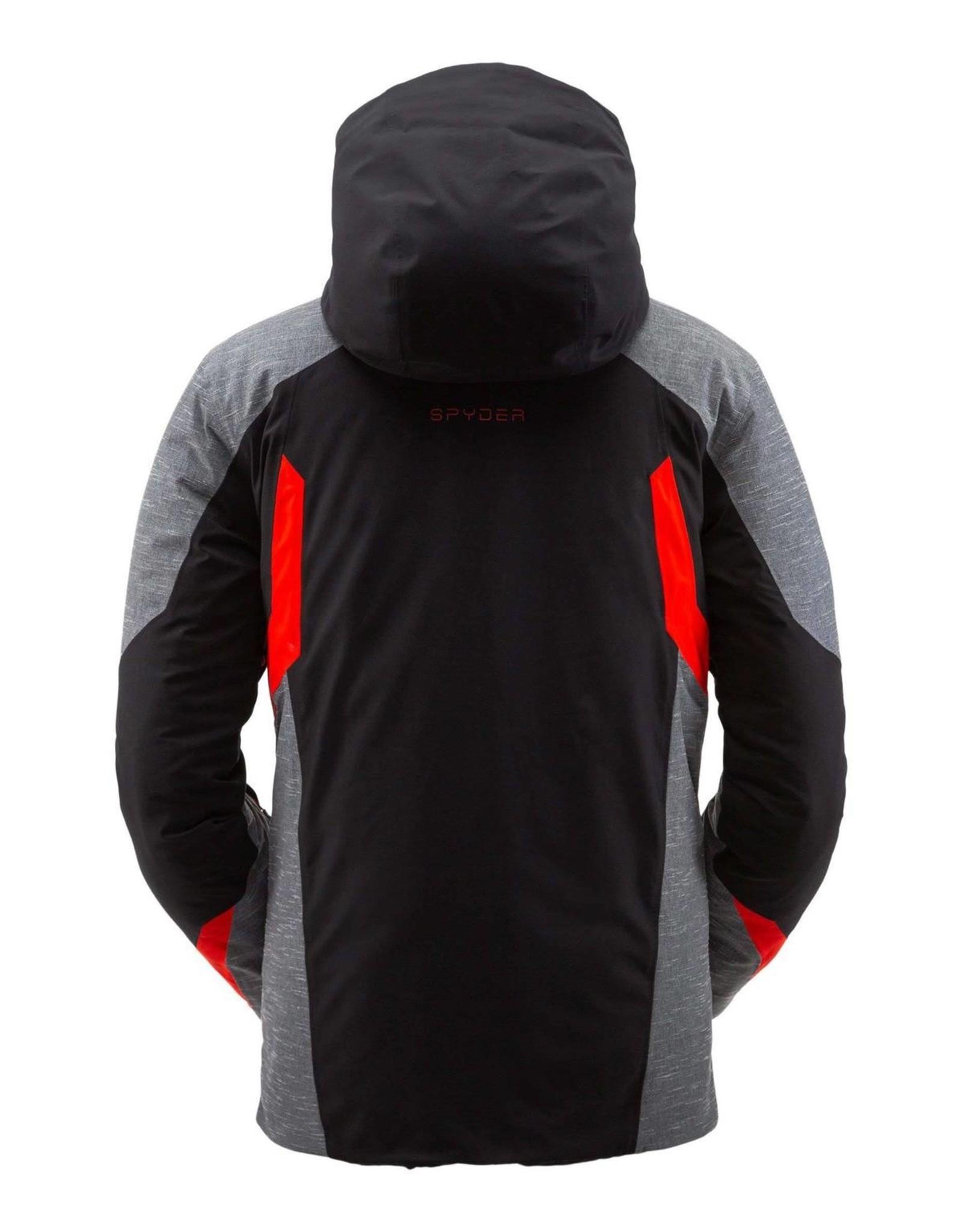 Spyder Spyder Men's Copper GTX Jacket Black Volcano XX-Large