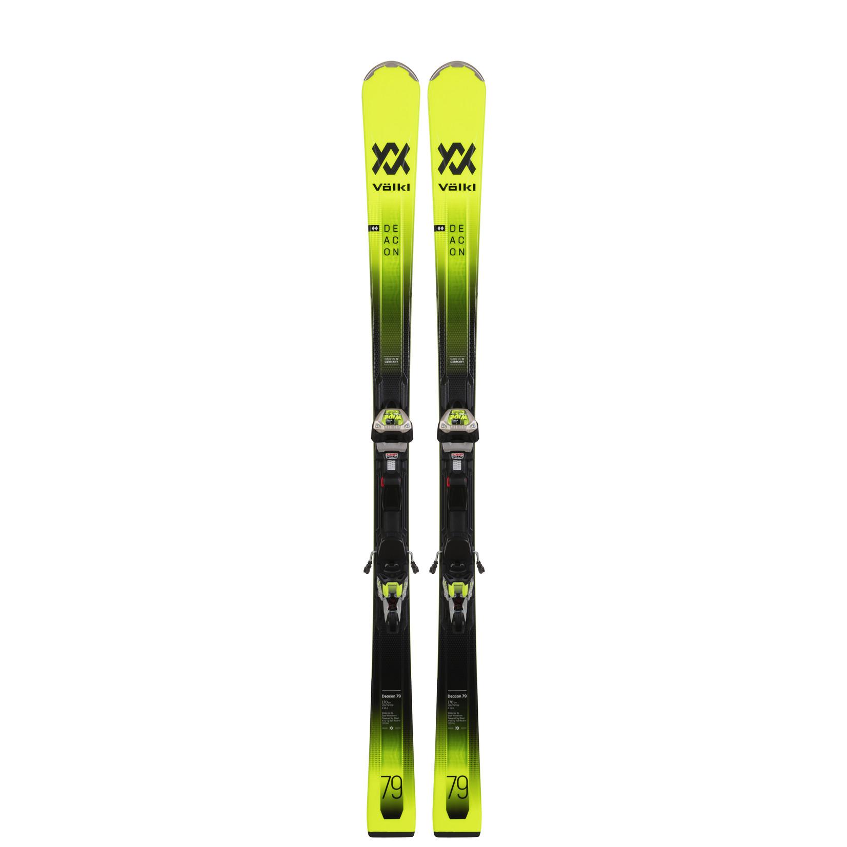 Volkl Volkl Men's Deacon 79 Skis + iPT WR XL 12 TCX GW Bindings 2022