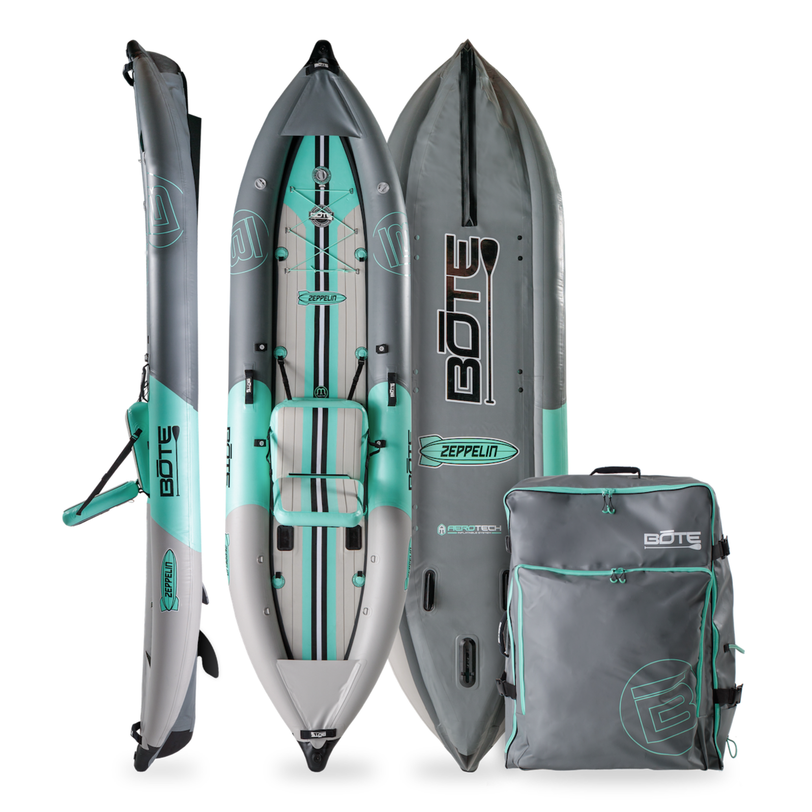 Bote Bote Zeppelin Aero 12′6″ Inflatable Kayak