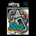 Bote Bote Retro Sticker Pack
