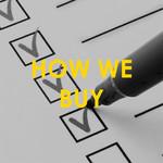 How We Buy