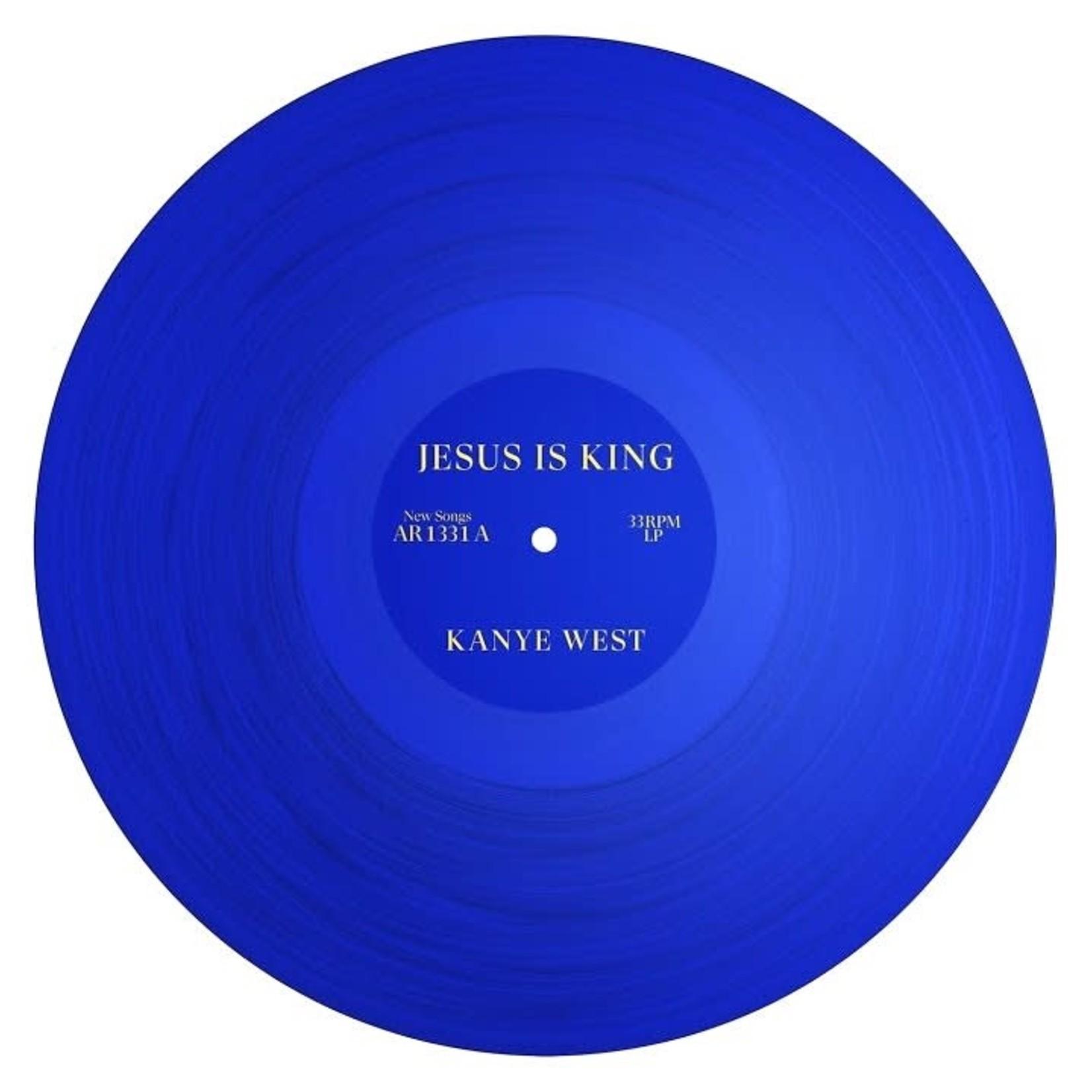 [New] West, Kanye: Jesus is King (blue vinyl)