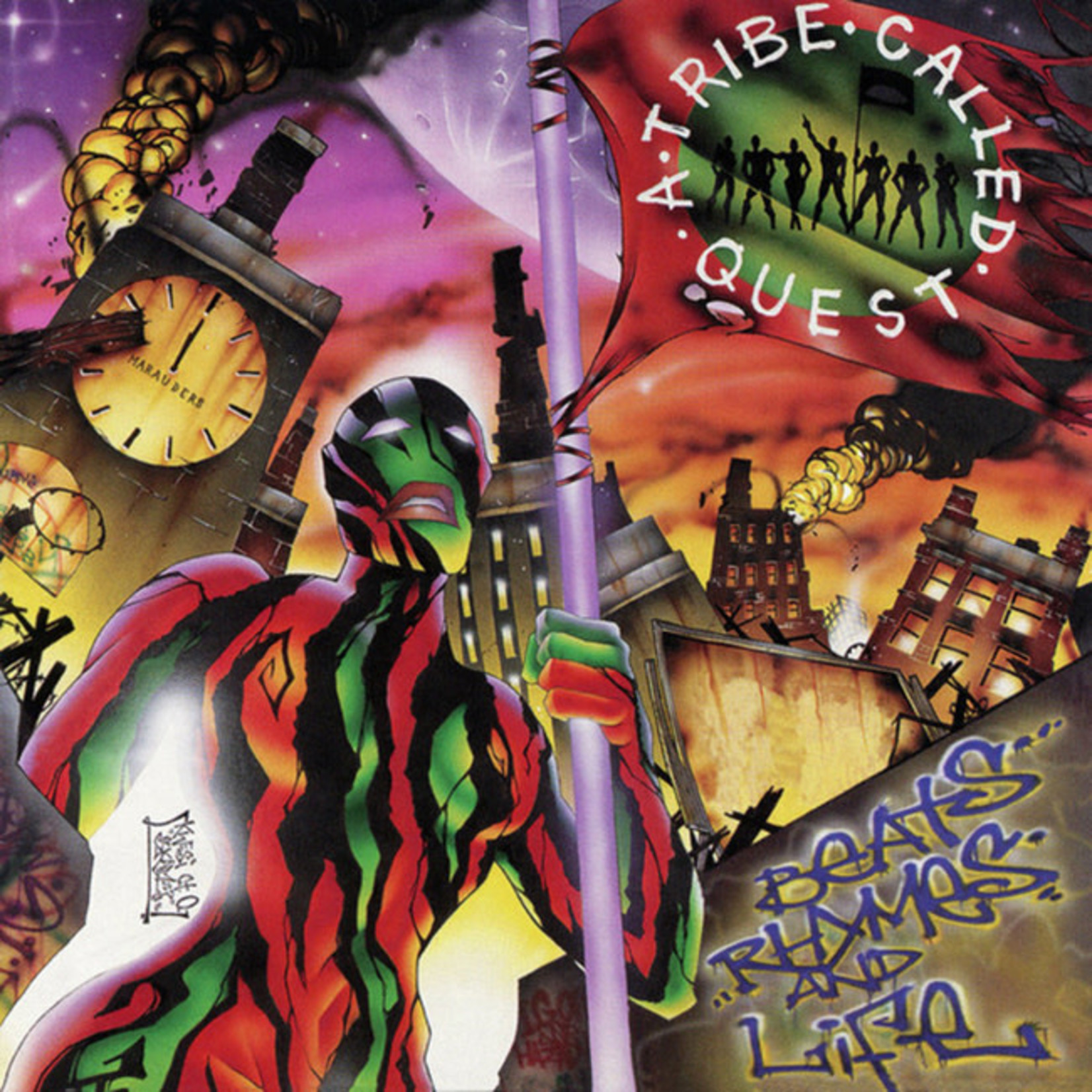 [New] A Tribe Called Quest: Beats, Rhymes & Life (2LP)