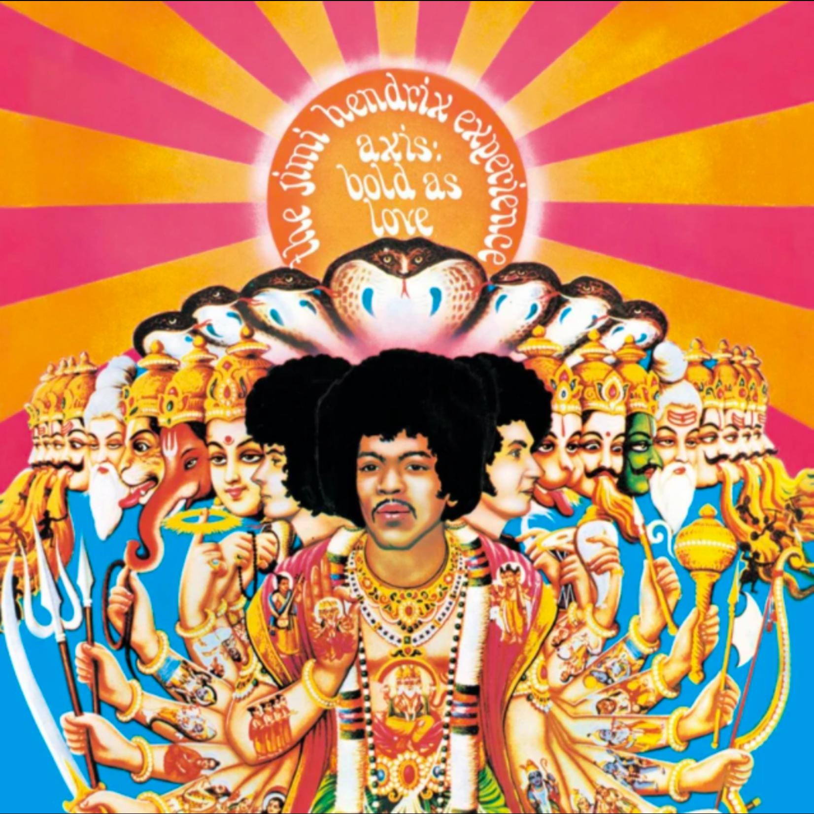 [New] Hendrix, Jimi (Experience): Axis - Bold As Love (mono mix)