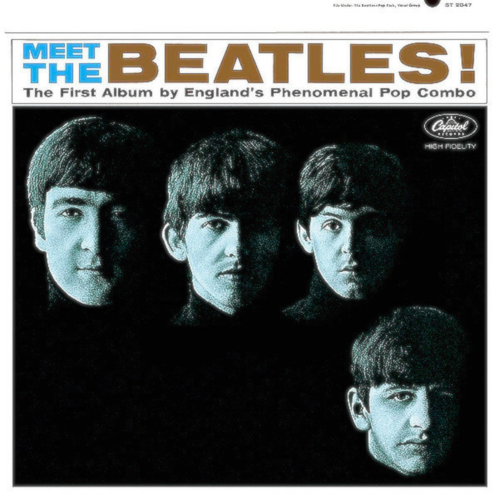 [Vintage] Beatles: Meet the Beatles (Mono, reissue)