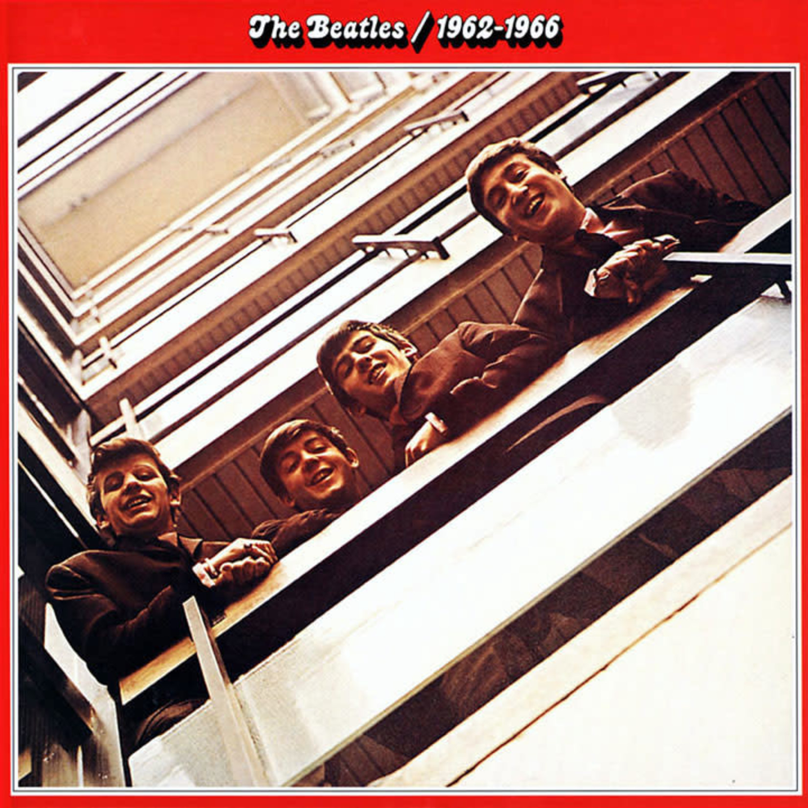 [Vintage] Beatles: 1962-1966 (red cover)
