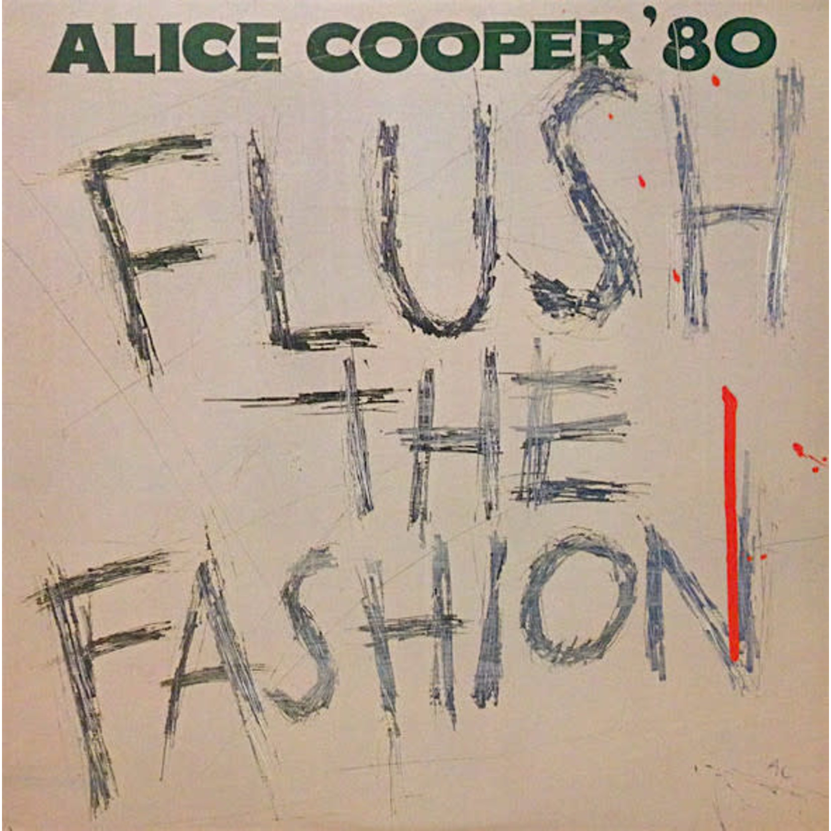 [Vintage] Cooper, Alice: Flush the Fashion