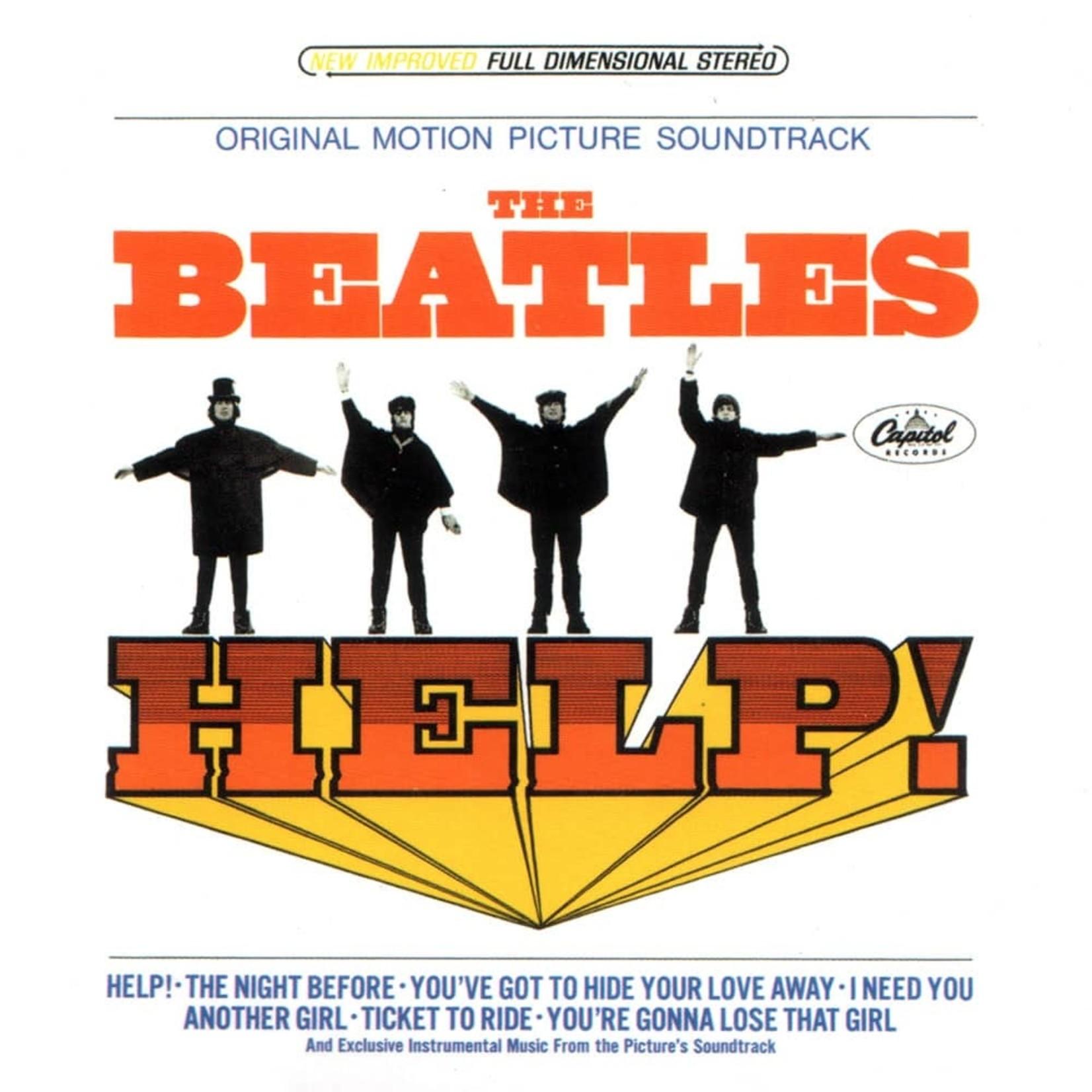 [Vintage] Beatles: Help (motion picture, reissue)
