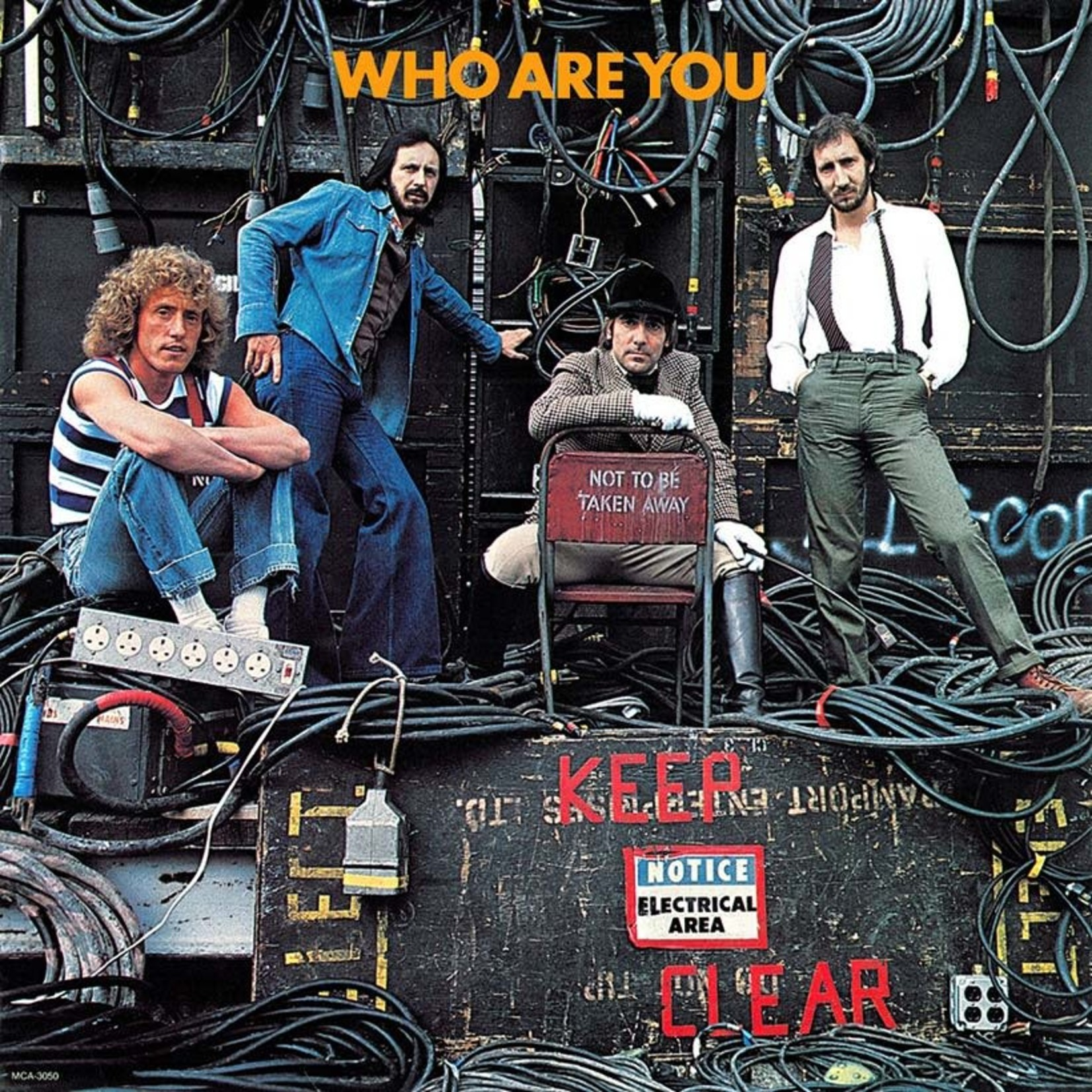[Vintage] Who: Who Are You? (red vinyl)