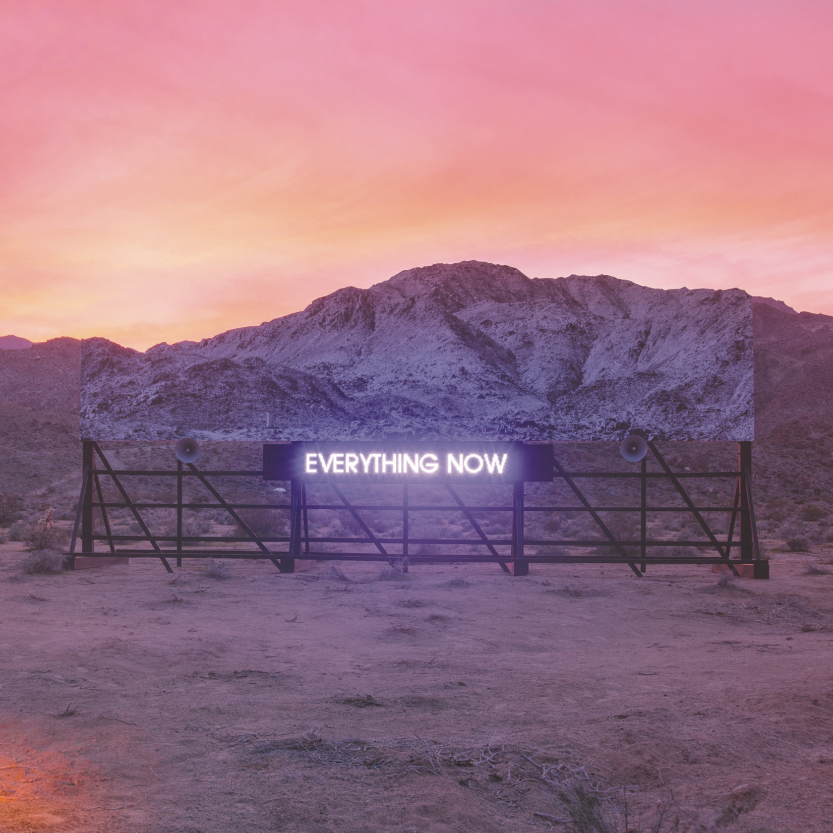 [New] Arcade Fire: Everything Now (day cover)
