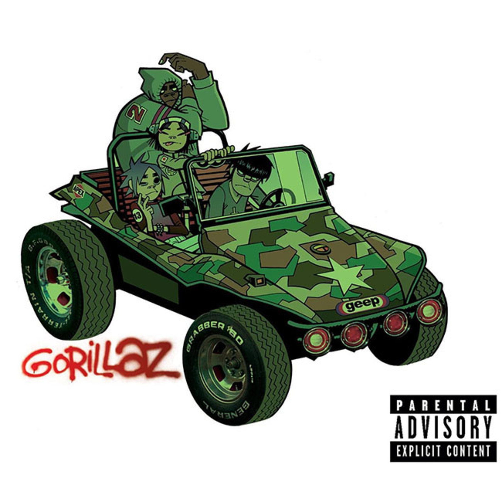 [New] Gorillaz: self-titled (2LP)