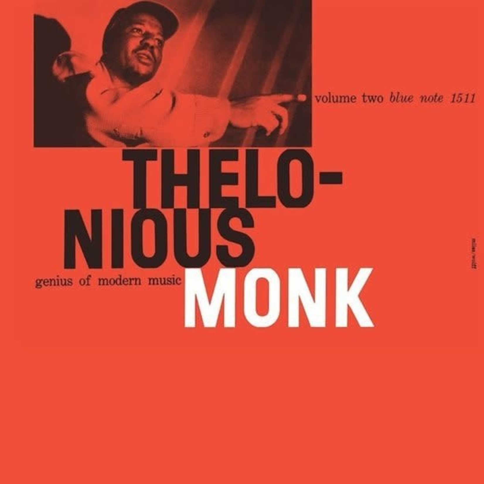 [New] Monk, Thelonious: Genius Of Modern Music Volume Two (Blue Note 75th Anniversary Series)