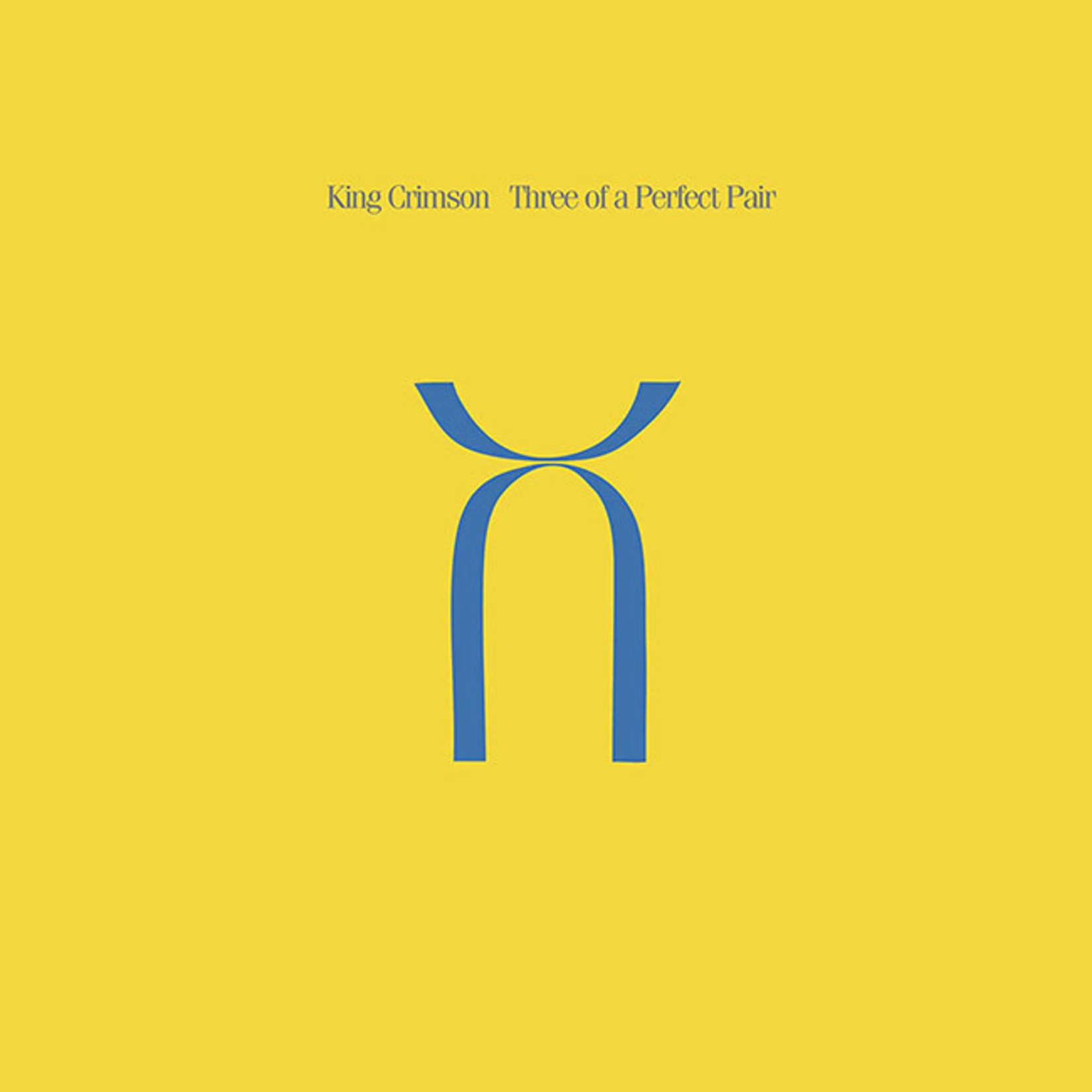 [New] King Crimson: Three Of A Perfect Pair (200g)