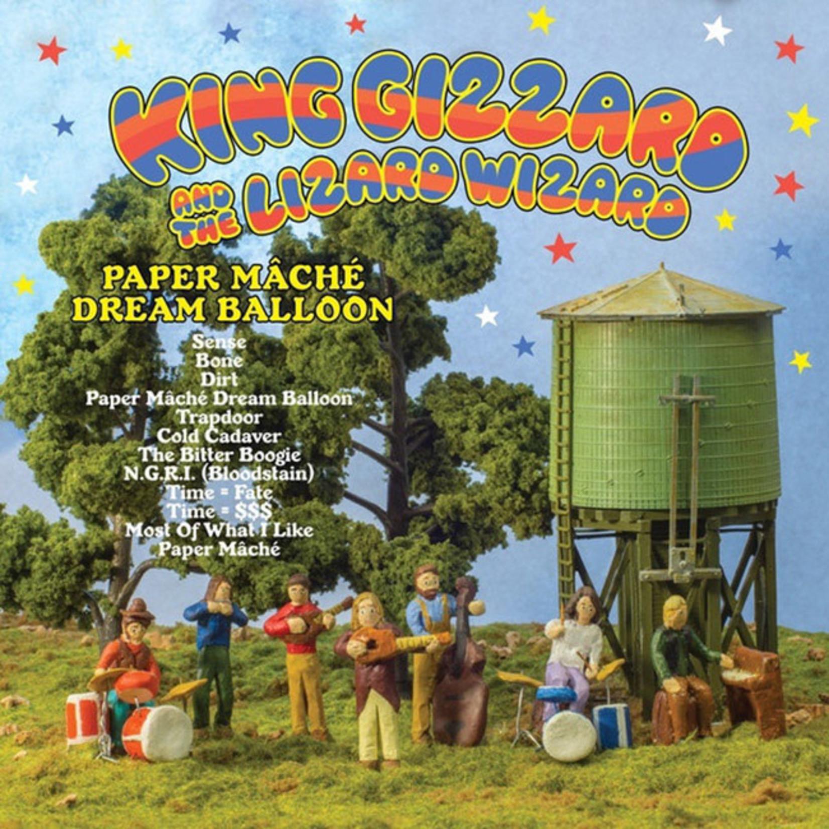[New] King Gizzard & the Lizard Wizard: Paper Mache Dream Balloon (orange vinyl)