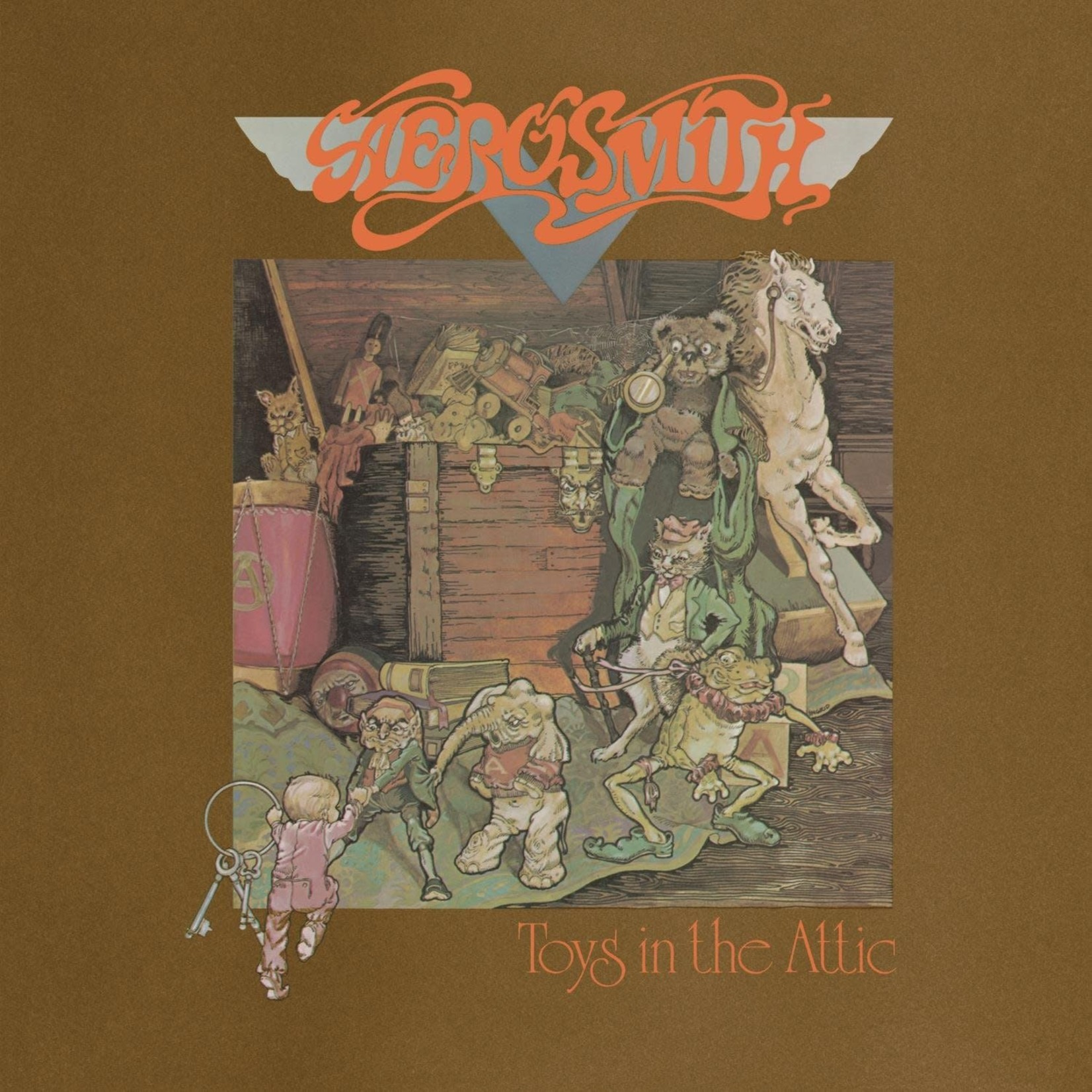 [Vintage] Aerosmith: Toys in the Attic