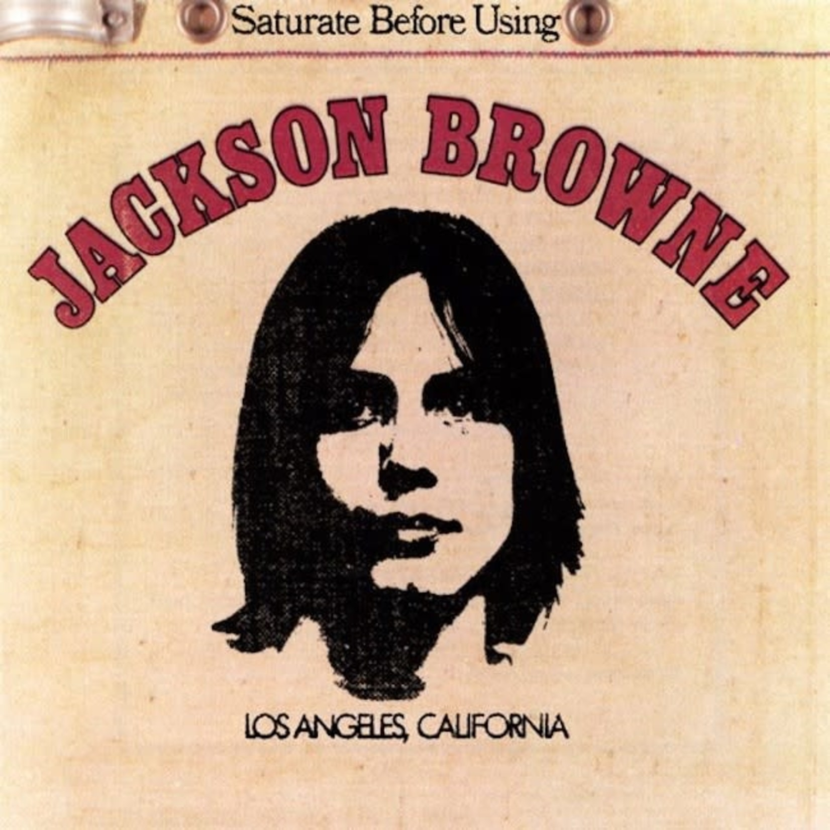[Vintage] Browne, Jackson: Saturate Before Using