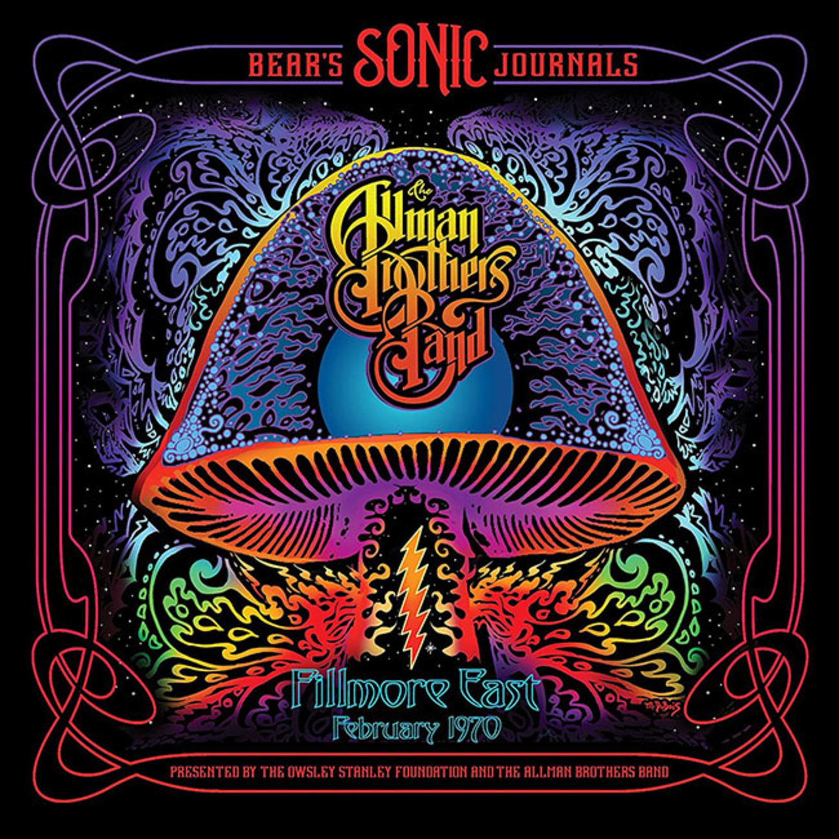 [New] Allman Brothers Band: Bear's Sonic Journals: Fillmore East, February 1970 (2LP)