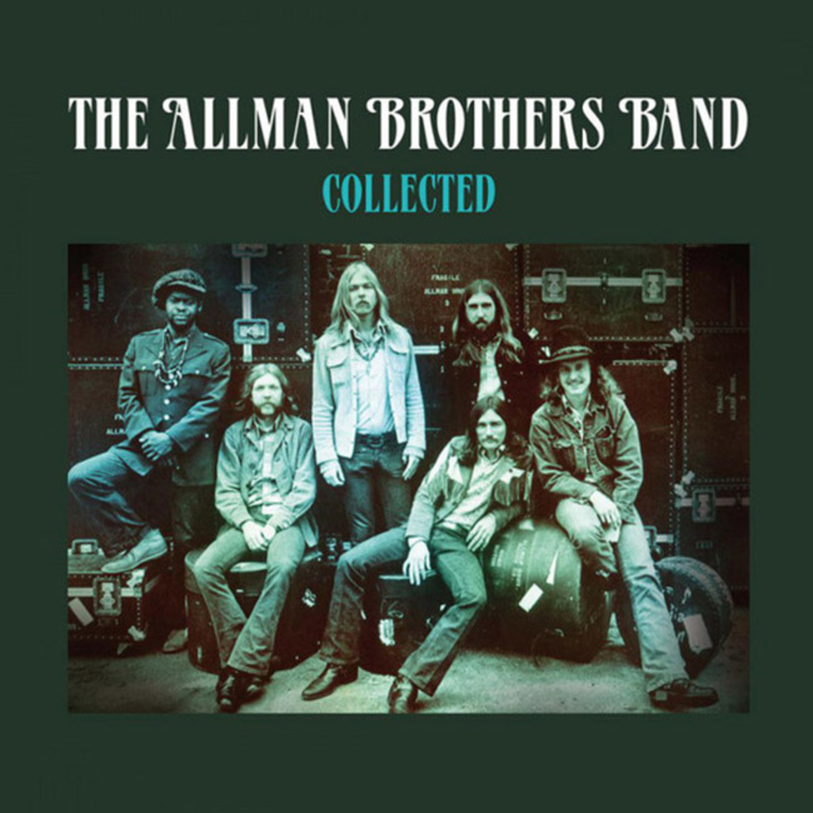 [New] Allman Brothers Band: Collected (2LP, green vinyl)