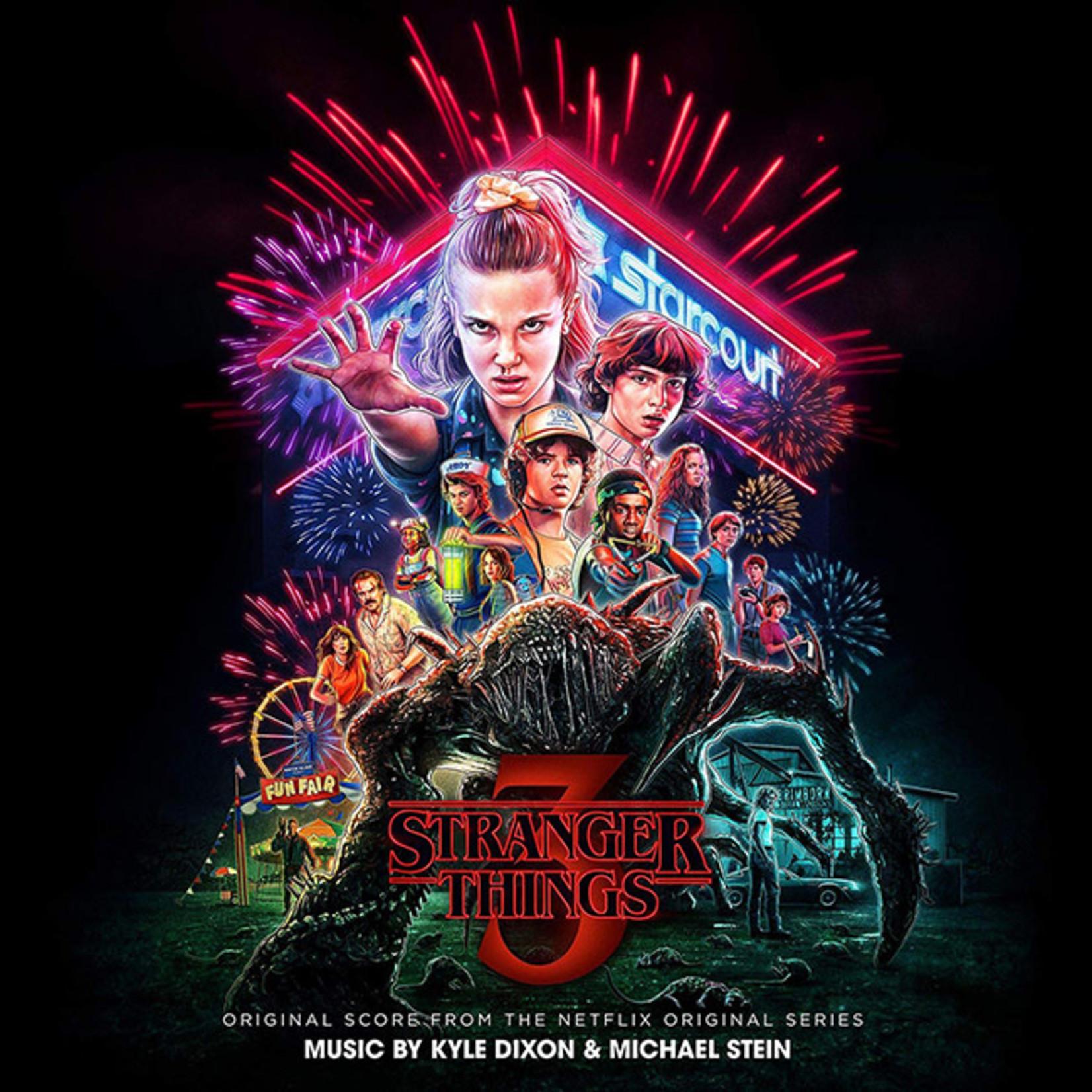 [New] Dixon, Kyle & Michael Stein: Stranger Things 3 (soundtrack) (2LP, splatter vinyl)