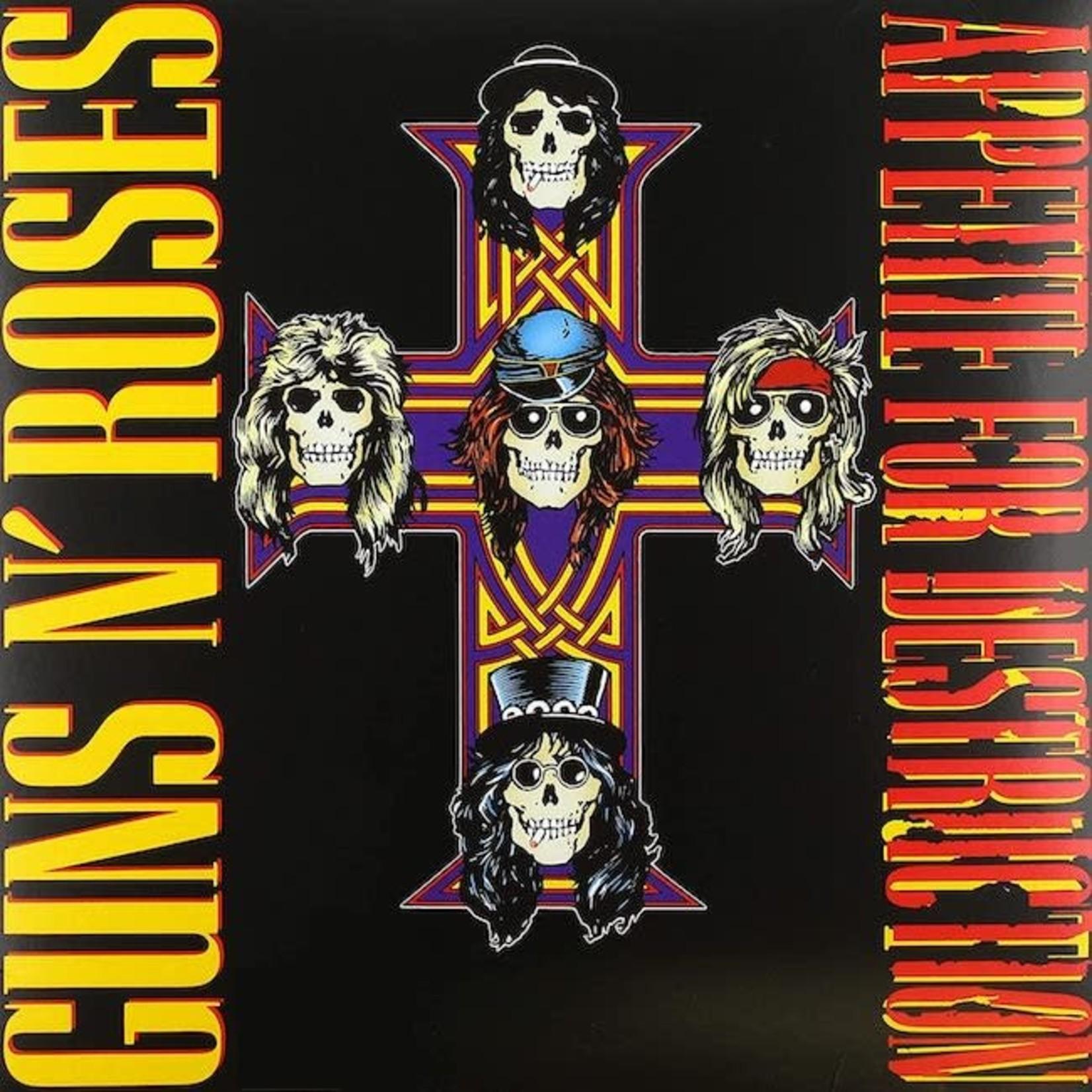 [Vintage] Guns N' Roses: Appetite For Destruction (80s pressing, no robot)