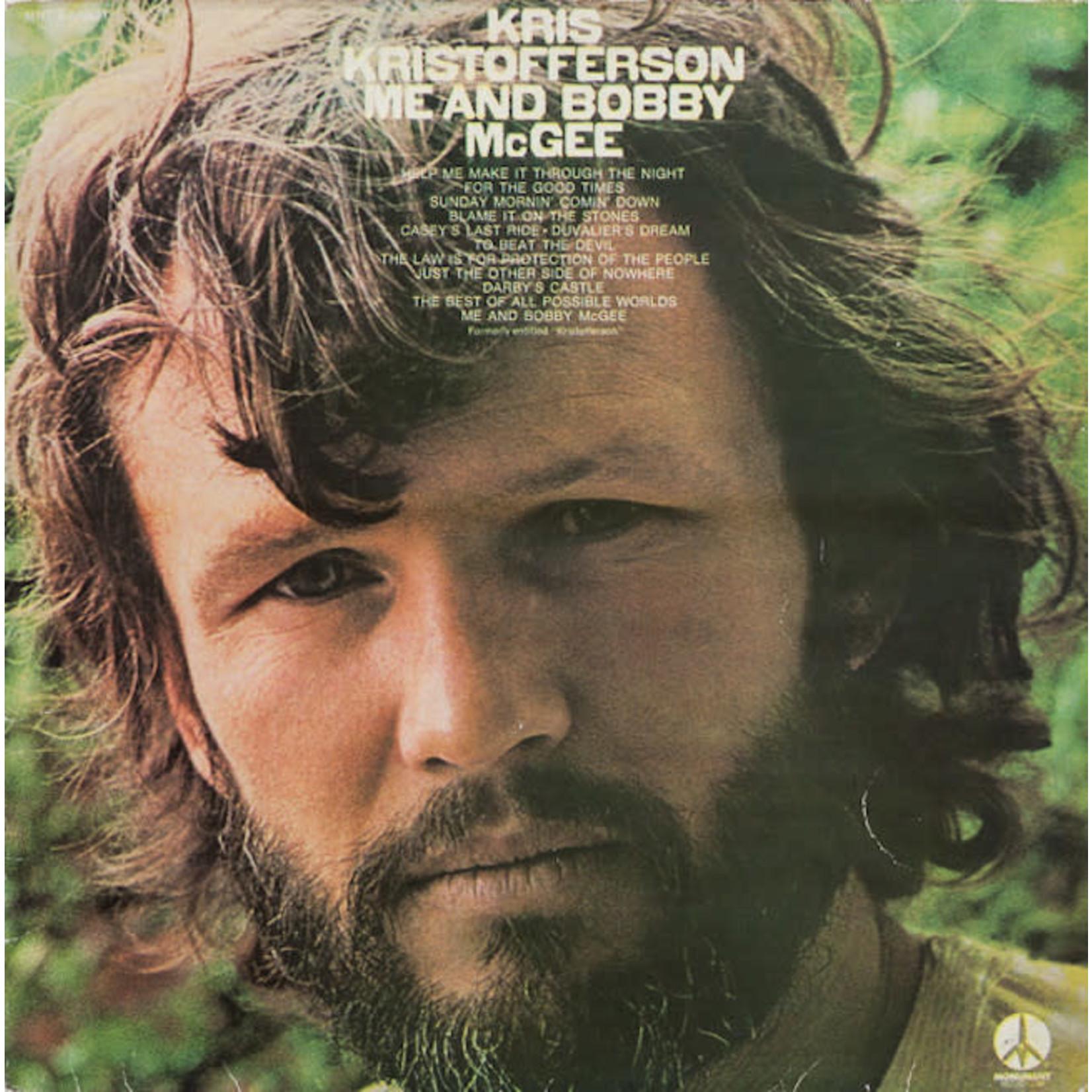 [Vintage] Kristofferson, Kris: Me & Bobby McGee (reissue of 1st LP