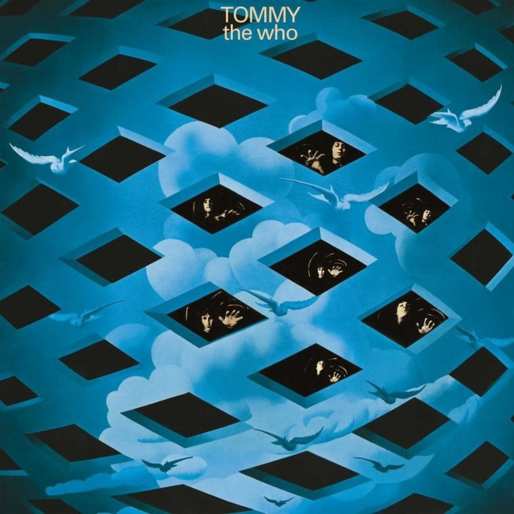 [Vintage] Who: Tommy (blue checkered-cover)
