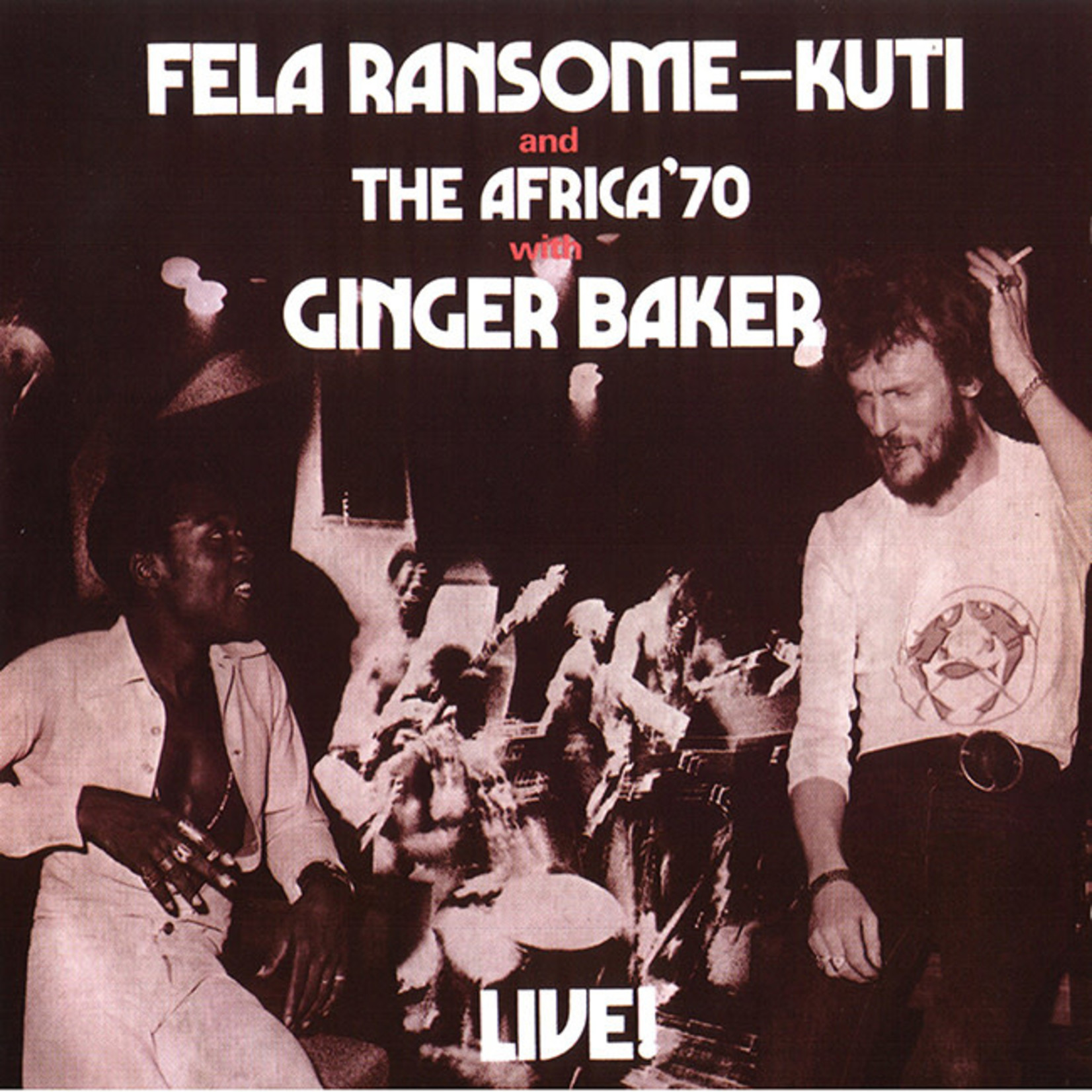 [New] Kuti, Fela & Ginger Baker: 'ÄéLive!