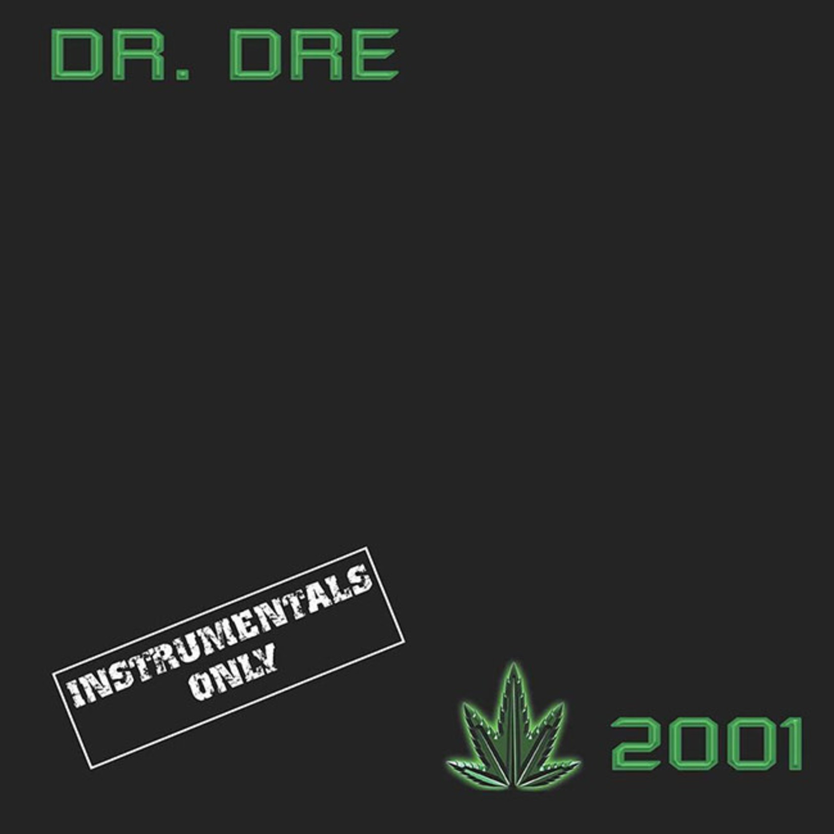 [New] Dr. Dre: 2001 (2LP, instrumentals only)