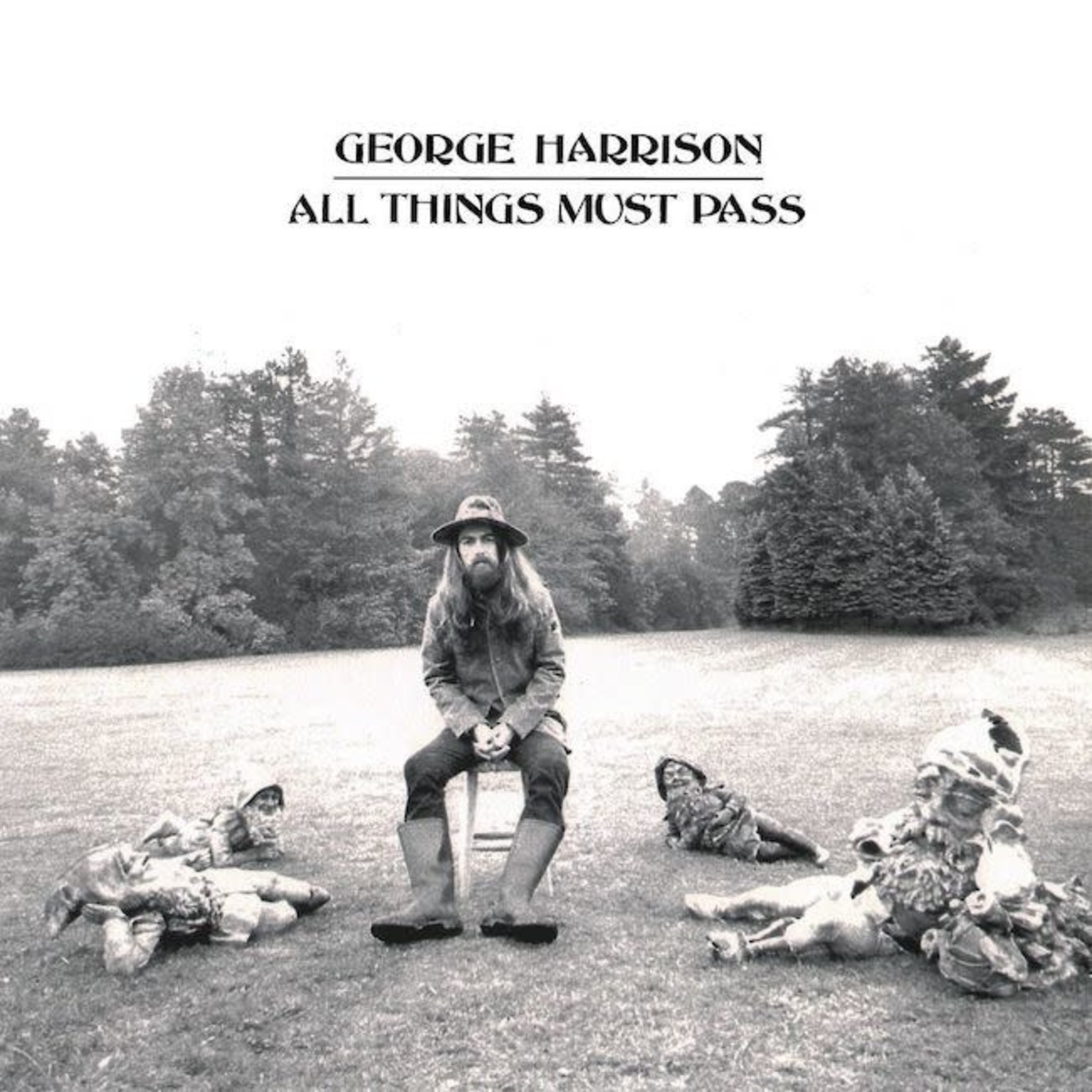 [Vintage] Harrison, George (Beatles): All Things Must Pass (without poster)