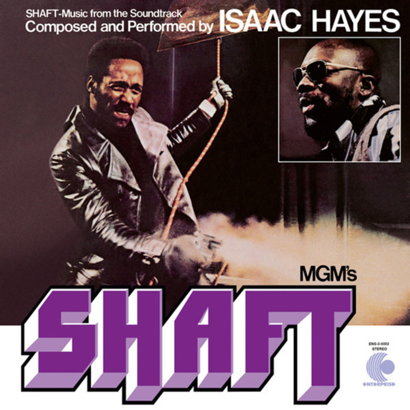 [New] Hayes, Isaac: Shaft (soundtrack) (2LP)
