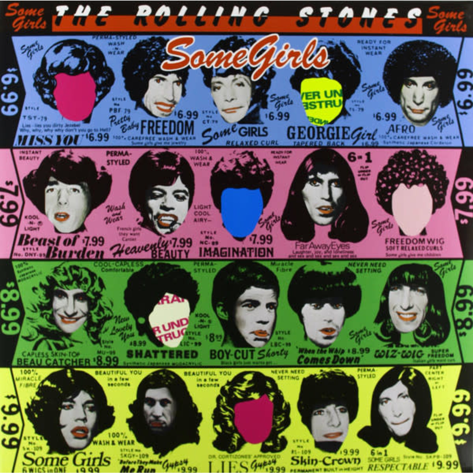 [Vintage] Rolling Stones: Some Girls (some empty faces)