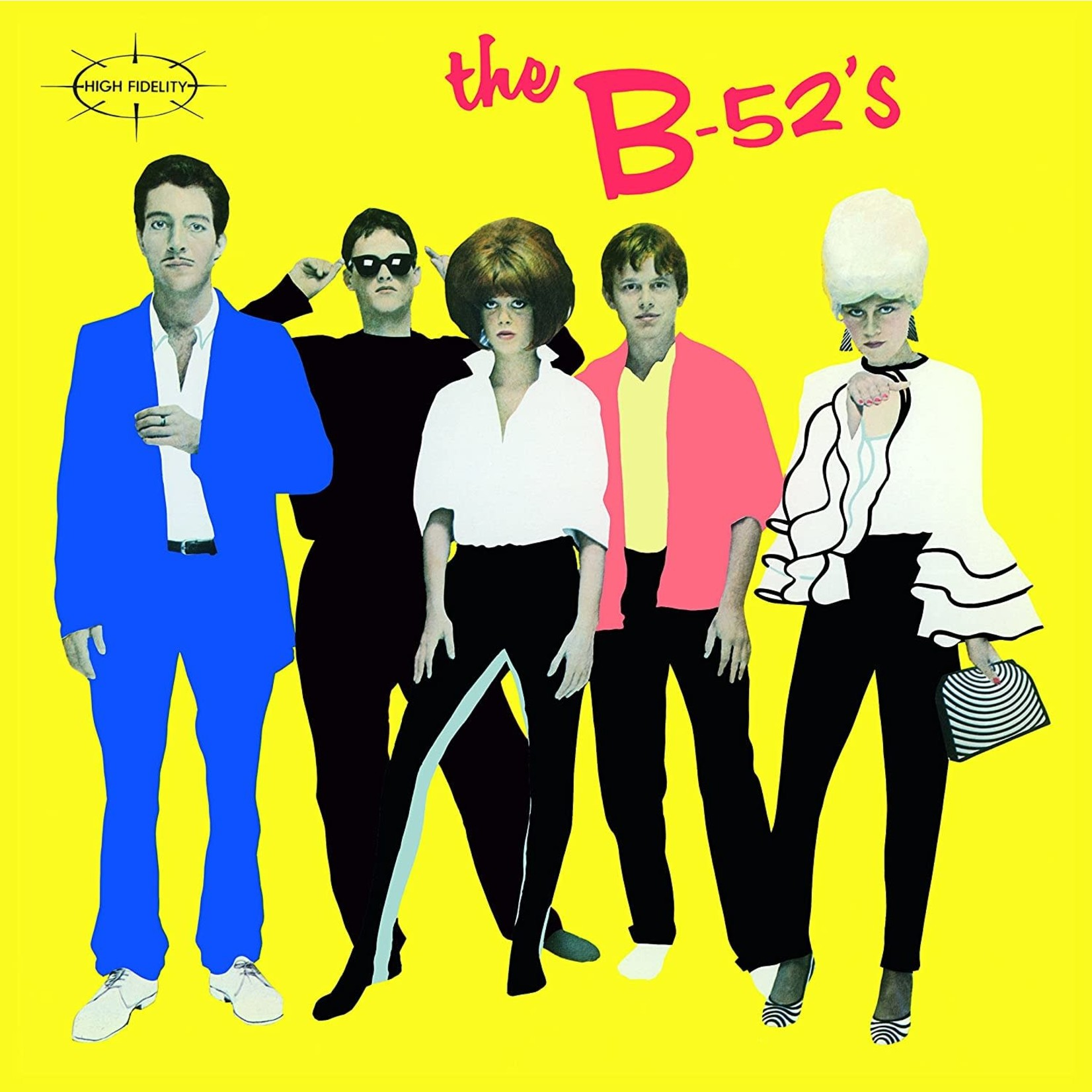 [Vintage] B-52's: self-titled (yellow cover)