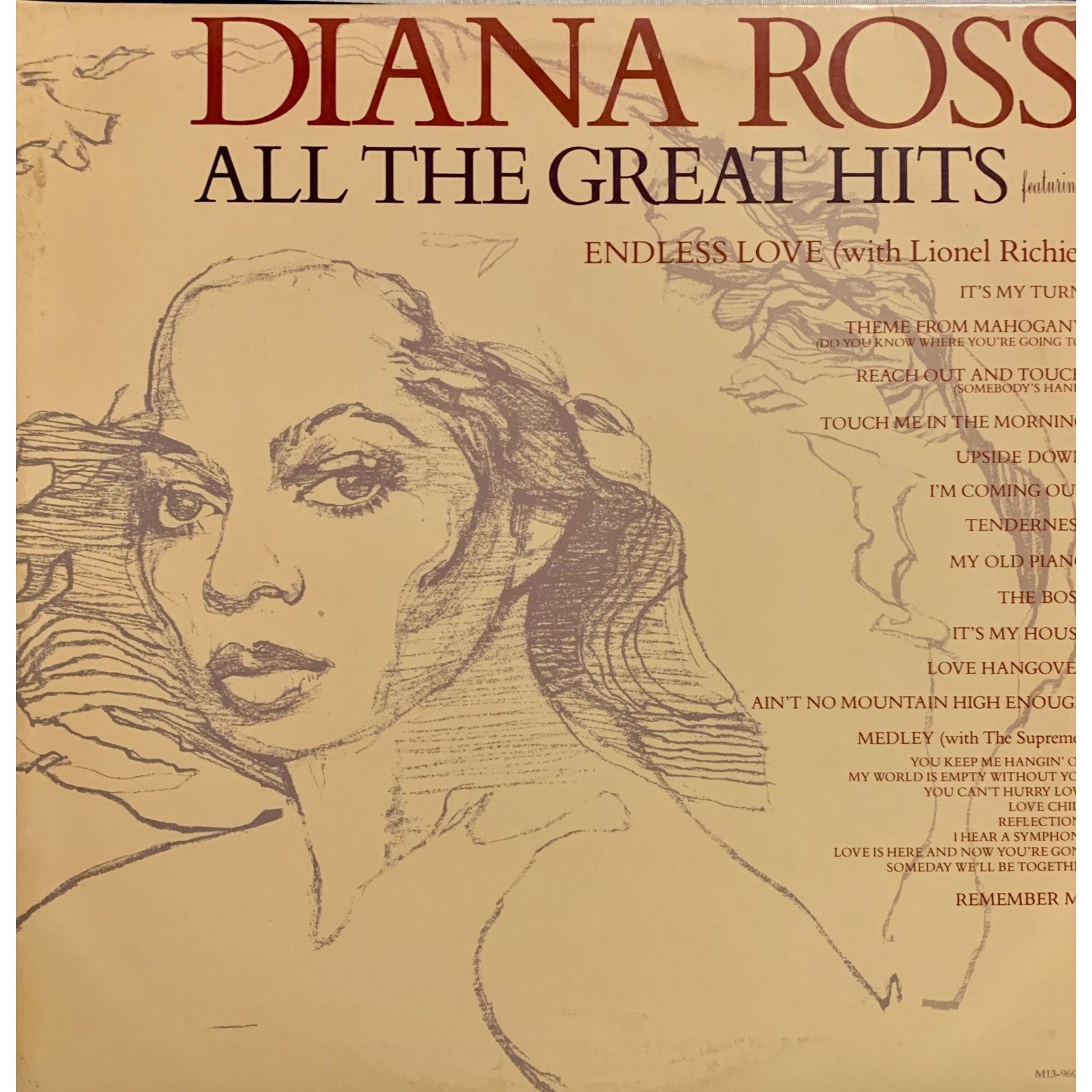 [Vintage] Ross, Diana: All the Great Hits (1981) (2LP)