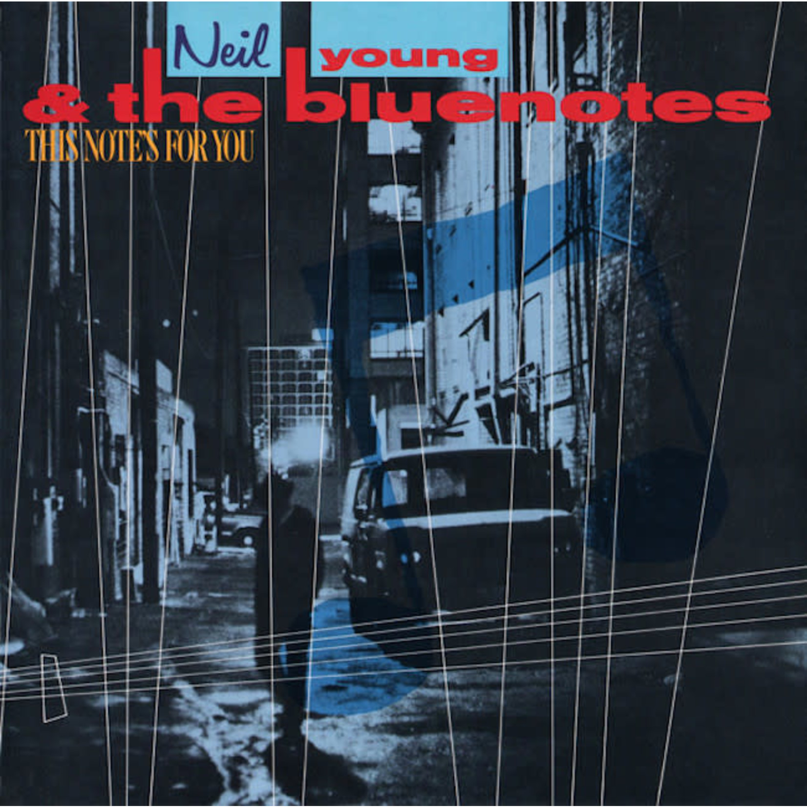 [Vintage] Young, Neil & the Bluenotes: This Notes for You