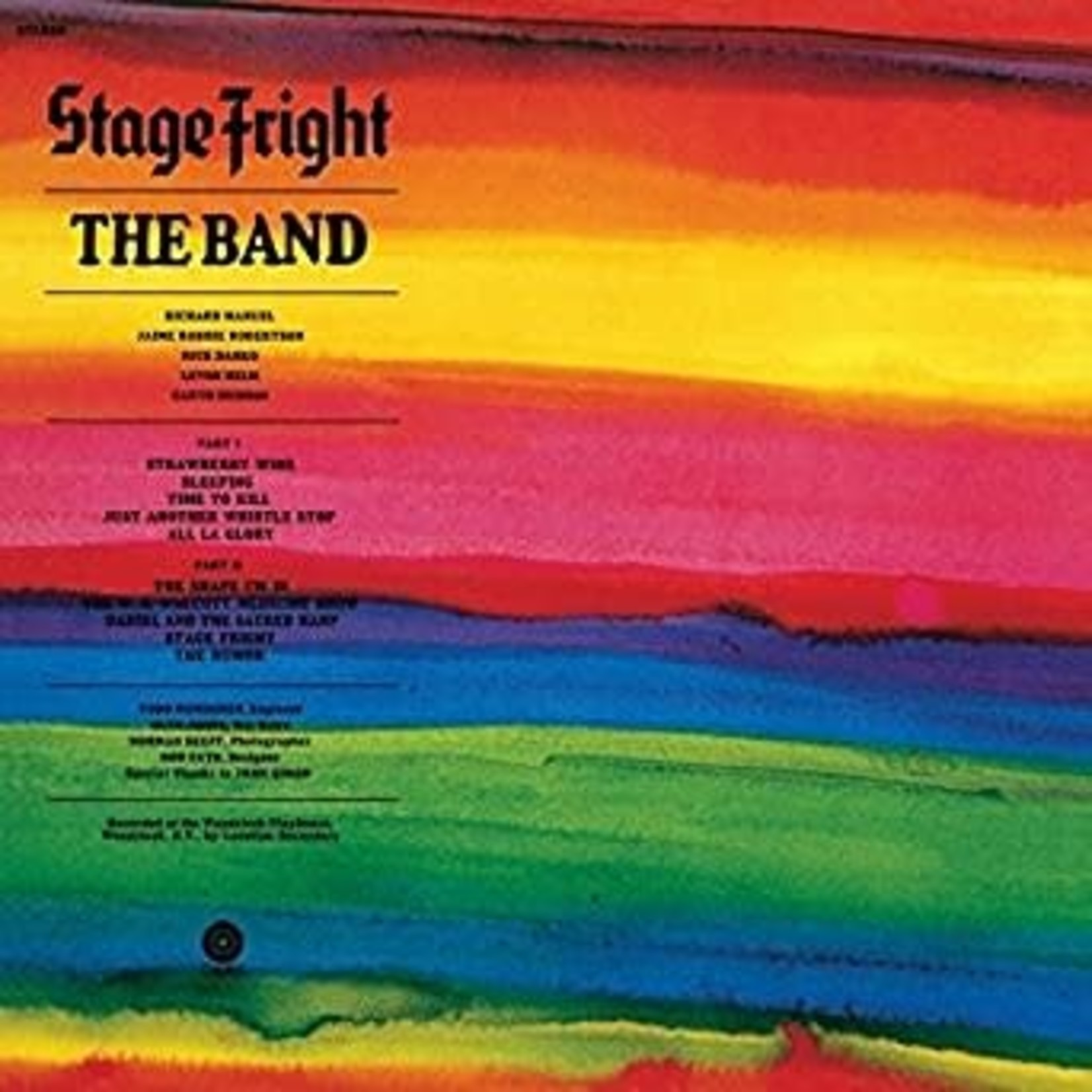 [New] Band: Stage Fright