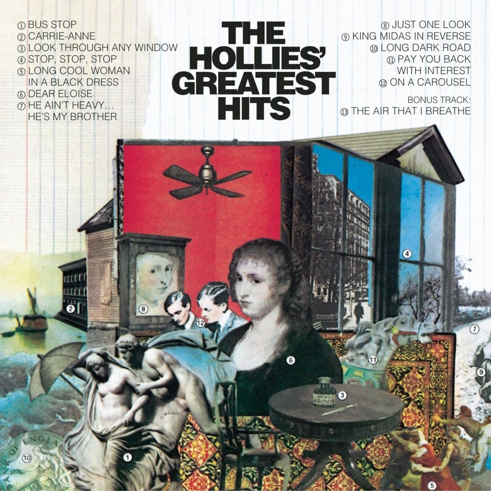 [Vintage] Hollies: Greatest Hits (Epic)