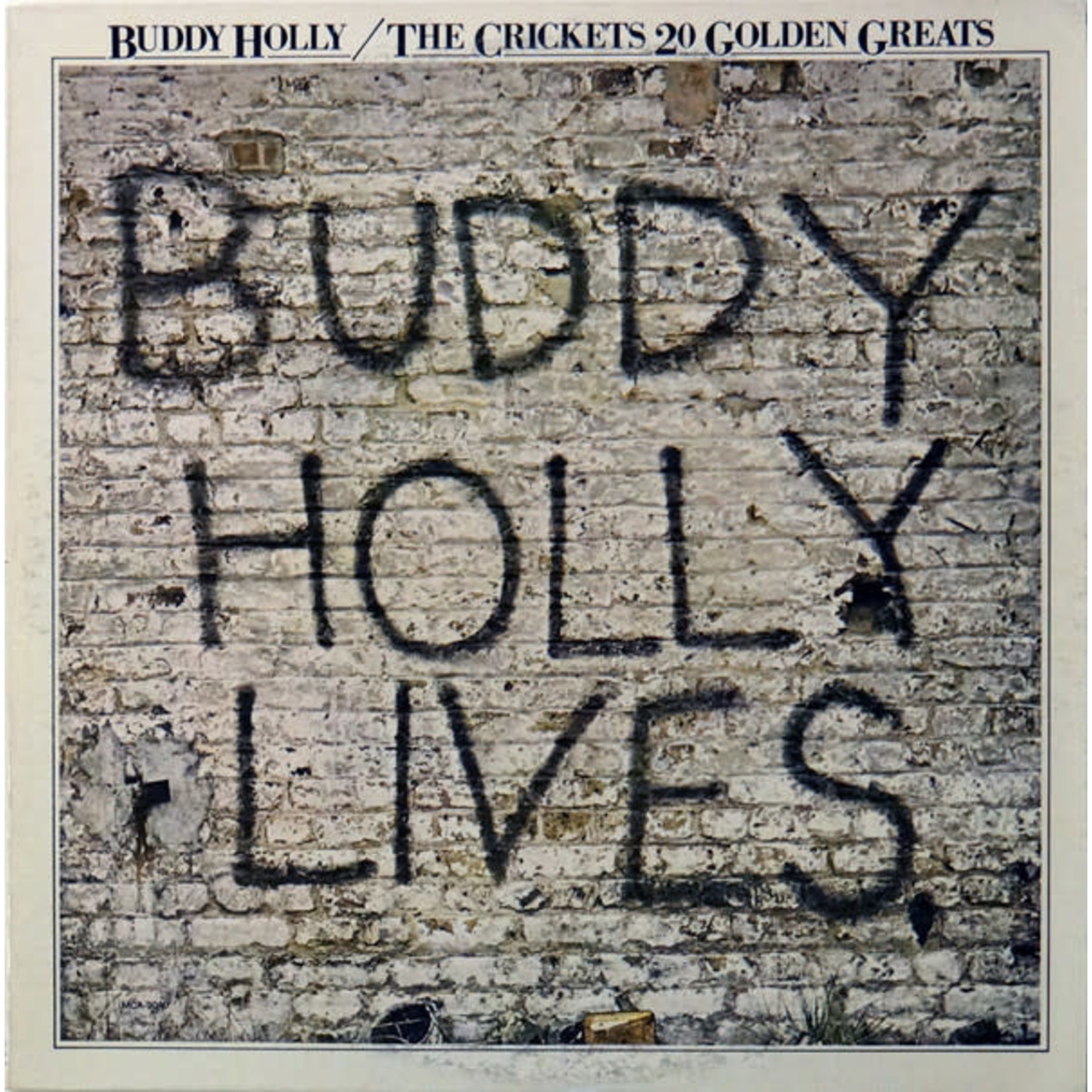 [Vintage] Holly, Buddy: The Crickets 20 Golden Greats
