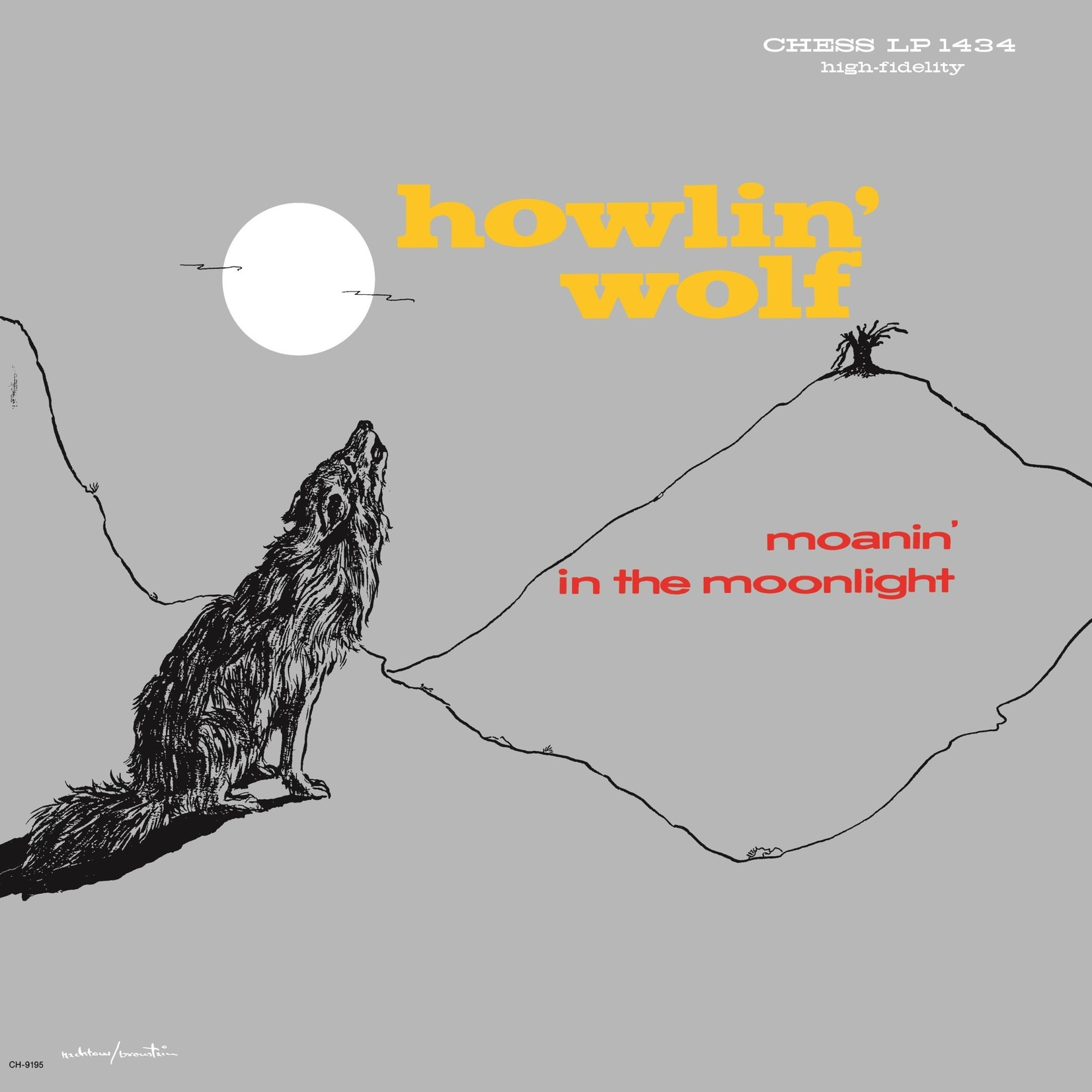 [New] Howlin' Wolf: Moanin' In The Moonlight (mono mix)